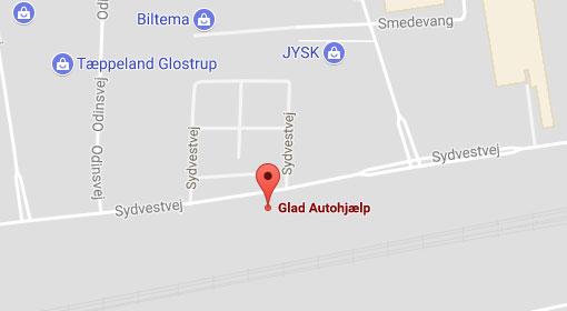 Glad Autohjælp Lokation